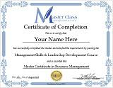Online Management Courses Certification